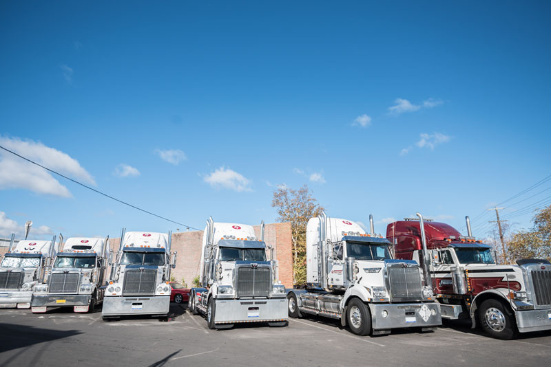 row-of-trucks